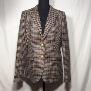 J. Crew Jackets & Coats - J. Crew Checkered Blazer